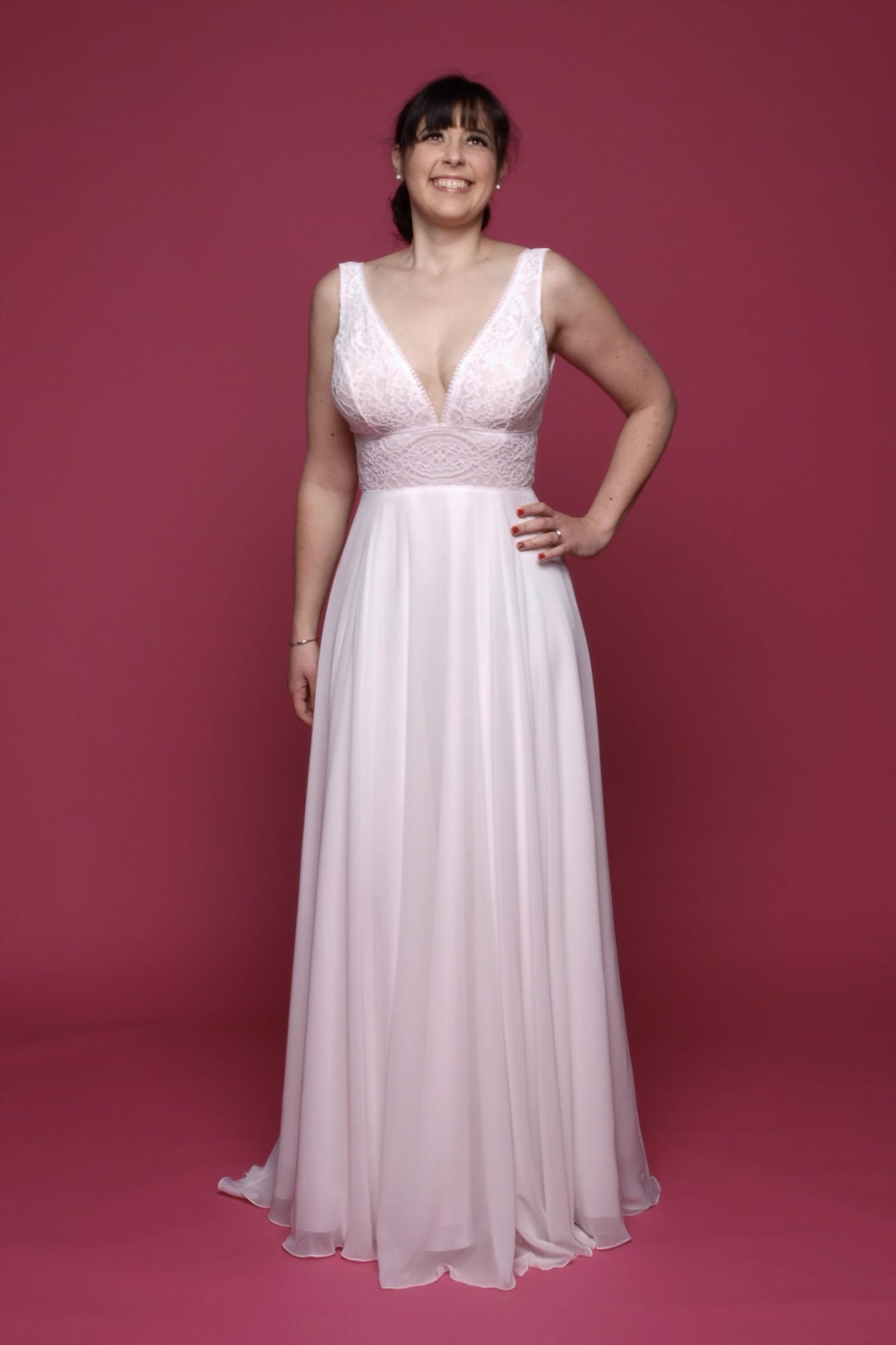 Robe de Coeur - Robe de mariée - Albi - Tarn - robe neuve - petit budget - bianco évent
